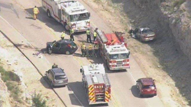 Five people were injured in an accident near House Springs Thursday afternoon.