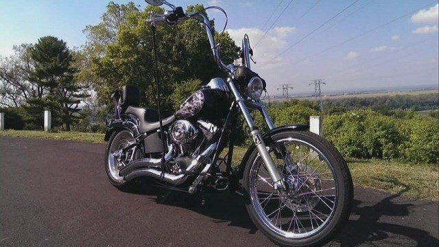 Police said a hit-and-run driver struck a motorcyclist, Mike Hoffner, twice in Florissant and Hazelwood around 6:30 p.m. on Tuesday.