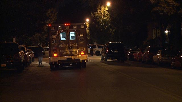 A woman was fatally shot outside a home in the 4100 block of Enright around 10:30 p.m.