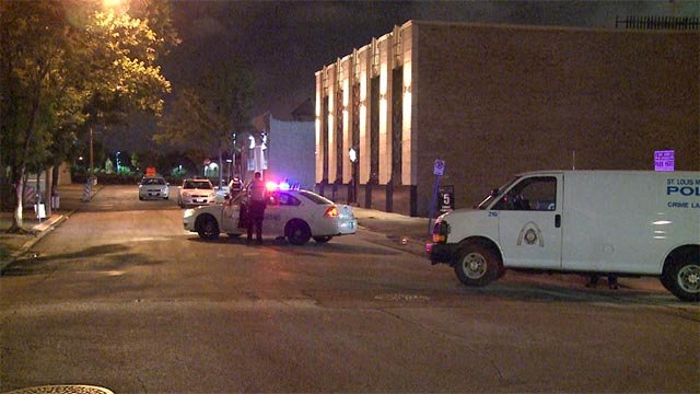 A man in his 20's was shot in the leg while in the 700 block of North 15th Street before 3 a.m.