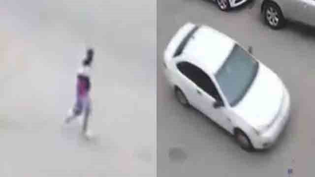 Surveillance footage captured Snipes leaving the scene of the homicide on April 24.