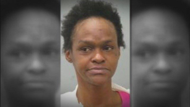 St. John police arrested Angela Luster twice in three days for allegedly shoplifting from two local stores.