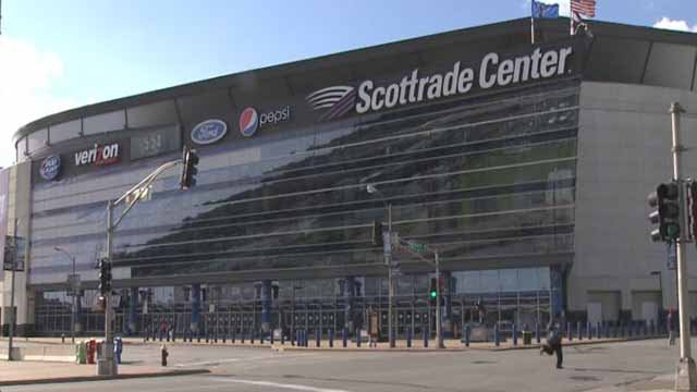 The Scottrade Center hosts many of the events that would be in question. (Credit: KMOV)