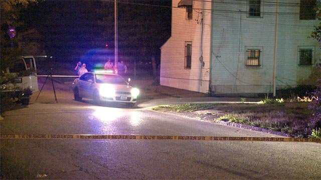 A man was fatally shot in the 5500 block of Genevieve early Thursday morning.