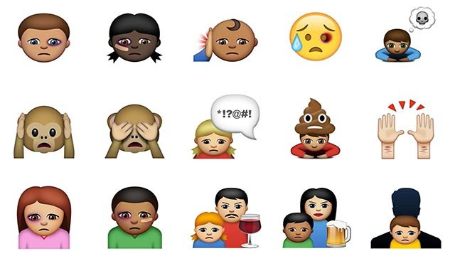(Credit: Bris) Abused Emojis is a new iOS app and keyboard that aims to help kids and teens communicate difficult situations through images.