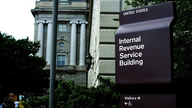 U.S. Internal Revenue Service building, Washington D.C. (Credit: KMOV)
