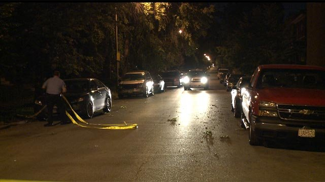 The teen was in the 3600 block of Oregon when he sustained multiple gunshot wounds in the back around 9 p.m.