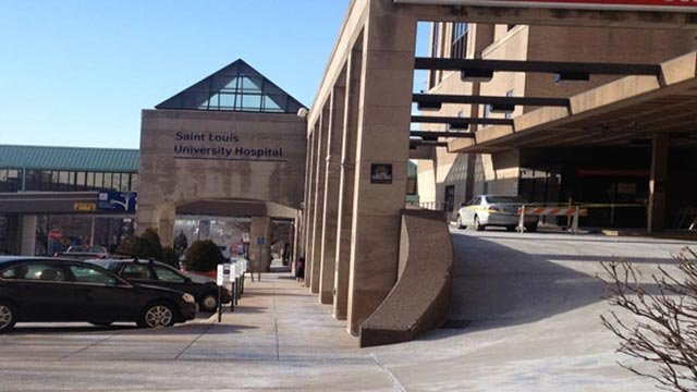 Nurses at SLU Hospital picketed over what they are calling unsafe working conditions (Credit: KMOV).