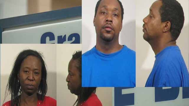 Leshanah Mosby is charged with permitting the sexual abuse of a child and Dondre LeFlore is charged with five counts of predatory sexual assault on a child. LeFlore allegedly secually abused Mosby's 10-year-old child. Mosby allegedly did not try to end it