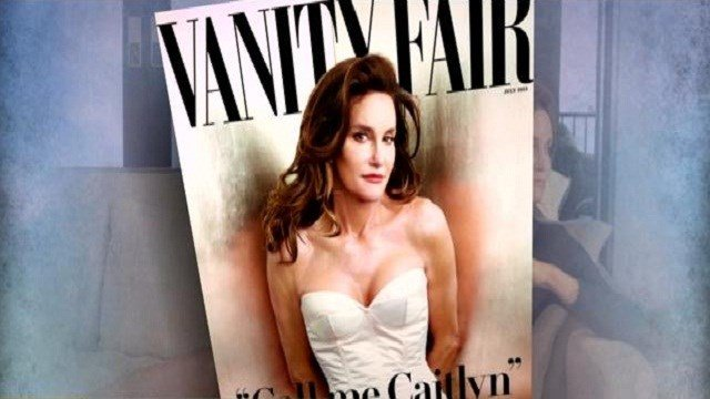 Caitlyn Jenner on the cover of Vanity Fair for her debut.
