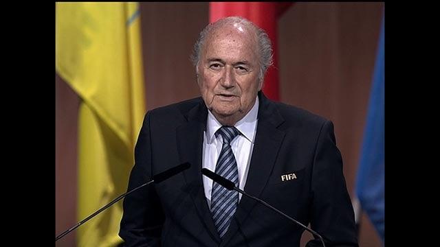 (Credit: FIFA) FIFA president Sepp Blatter