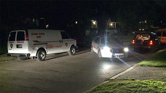 A car and van were shot at in the 7100 block of Garesche in Jennings late Tuesday