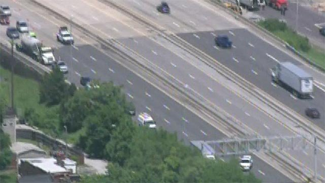 A pedestrian was fatally struck on I-70 near Grand Friday afternoon