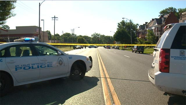 A bicyclist was struck while on North Euclid and Page Wednesday morning.