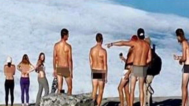 KUALA LUMPUR, Malaysia (AP) — Malaysian police have detained four Westerners accused of posing naked at the country's highest peak last month, just days before an earthquake killed 18 climbers on the mountain.