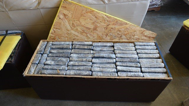 Phelps County officials seized 537 pounds of marijuana concealed within a U-Haul truck.