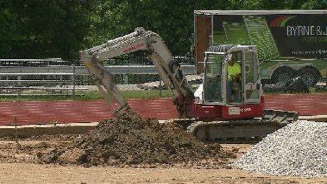 All four of the high schools in the Rockwood School District have begun the process of converting football fields from natural grass to synthetic turf.