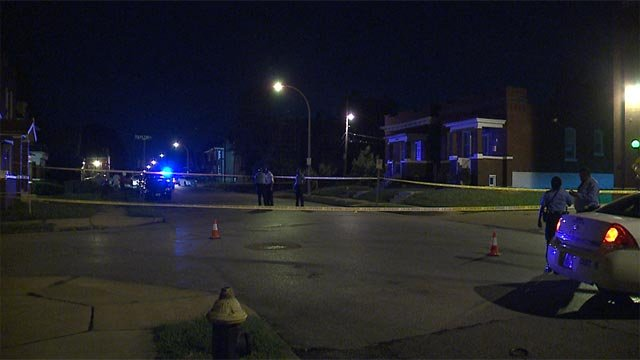A person was fatally shot near Margaretta and North Taylor Monday night