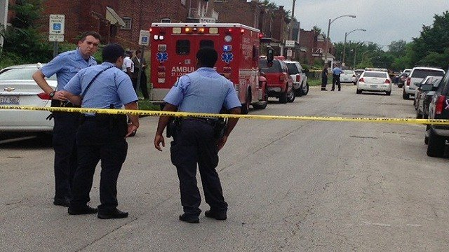 One person was killed and another injured in a shooting Tuesday afternoon in the 5900 block of Highland
