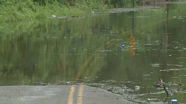 Flooding in Jefferson County