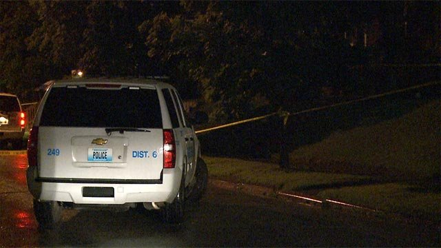 A man was shot around 11 p.m. in the 4800 block of Margaretta Avenue Tuesday night