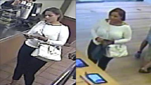 Anyone who recognizes the suspect is asked to contact CrimeStoppers at 866-371-TIPS.