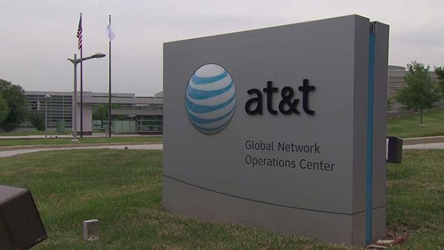 "AT&T Mobility LLC has been hit with a $100 million fine for offering consumers ""unlimited"" data, but then slowing their internet speeds after they hit a certain amount. (Source: CNN)"
