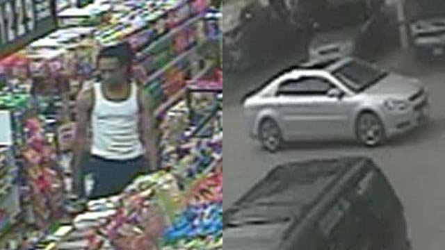 Anyone with information about the suspect is asked to contact CrimeStoppers.