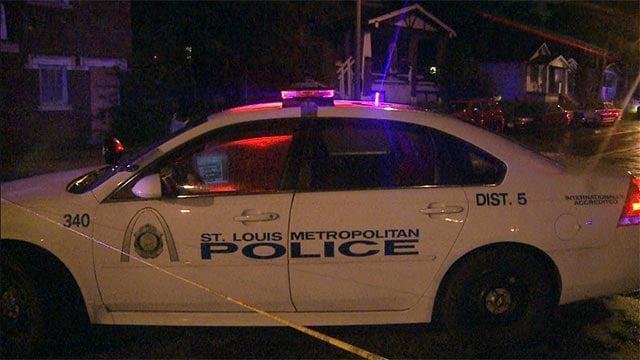 A man was shot on St. Louis Avenue around 11 Monday night