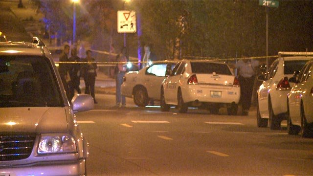 A man was fatally shot just before 3 Tuesday morning at 21st and Salisbury in north St. Louis