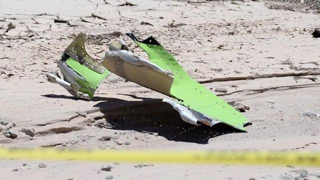 A small plane belonging to Academy Award-winning composer James Horner, 61, crashed in Ventura, California June 22, 2015. (Credit: Santa Barbara County Fire)