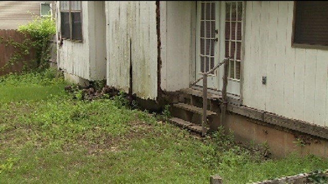 Neighbors are asking the city of St. Peters to find the homeowner of this vacant problem property.