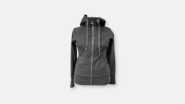 Lululemon Athletica (LULU) is recalling over 300,000 women's tops because the hard-tipped drawstrings have whipped some of the wearers in the face, causing injuries. (Credit: www.cpsc.gov)