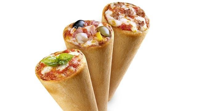 Kono Pizza franchisor Carlo Ruggiero wants to bring his unique delivery of pizza -- in a cone -- to the United States. (Credit: Kono Pizza)