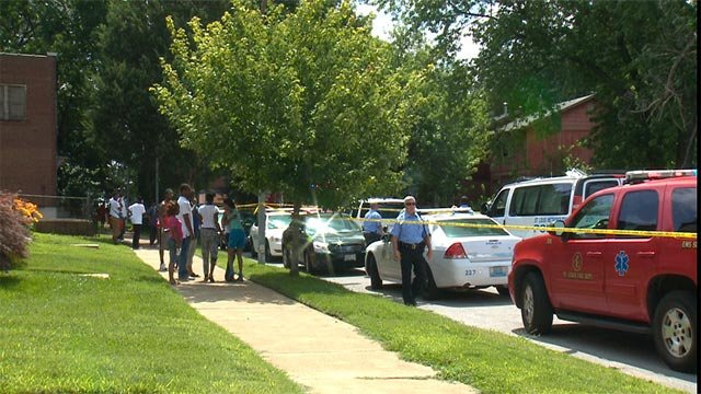 A man was murdered in the 2200 block of Benton Monday morning.