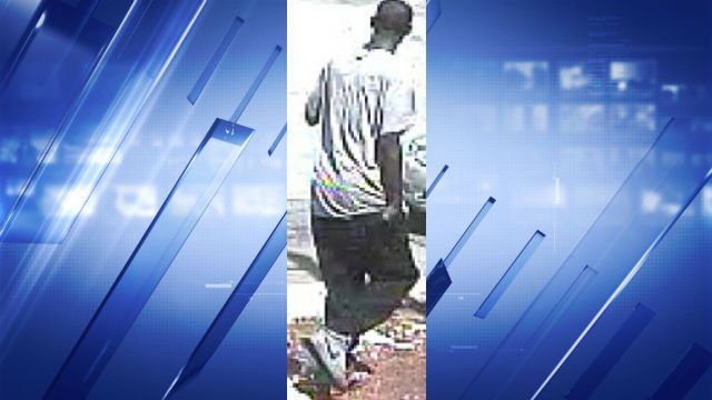 Police ask anyone who recognizes the suspect to call CrimeStoppers at 866-371-TIPS (8477).