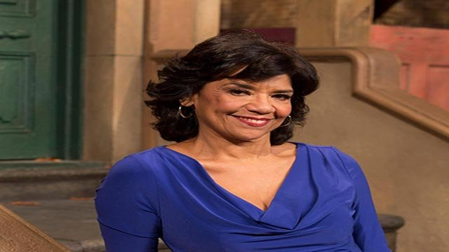 Sonia Manzano has played shop owner Maria on PBS's Sesame Street for 45 years. (Credit: Sesame Street)