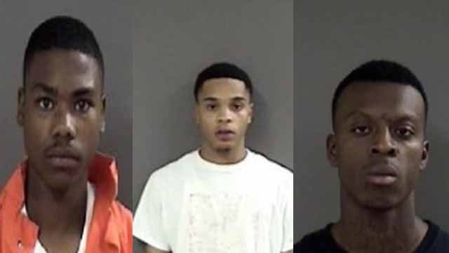 17-year-old Javier B. Anthony, 20-year-old Michael L. Jacskon III, and 21-year-old Rasheen D.L. Brazier are charged with one count of felony murder in death of Kenneth Easley