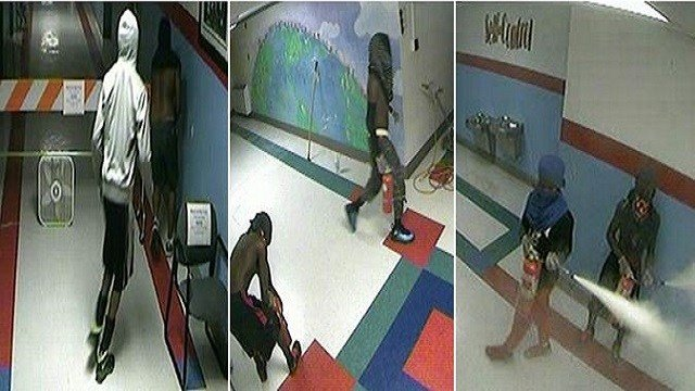 A group of juveniles caused thousands of dollars of damage in 3 elementary schools in the Riverview Gardens district.