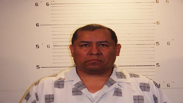 Cesar L. Aharon, of the 4300 block of Thunderbolt Lane, is charged with two counts of aggravated sexual abuse with a girl under the age of 13.