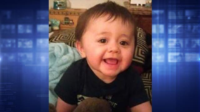 Middletown, Connecticut, police believe a Tony Moreno, 22, man jumped off a bridge holding his infant son Aaden.  (Credit: Middletown Police Department)