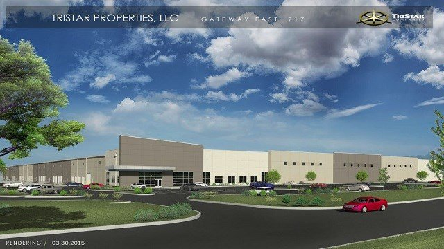 A rendering of the finished distribution center. (Photo: TriStar Properties)