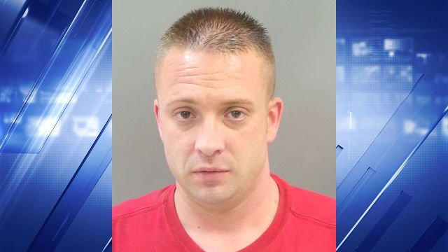 Shaun Arnold, 36, is charged with impersonating a police officer on a MetroLink train.