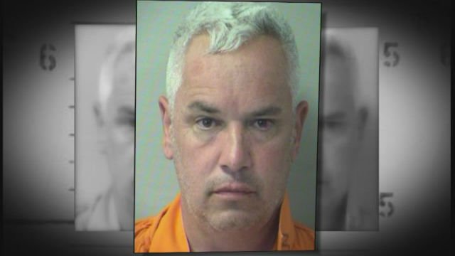 Former Detective Christopher Welby, 46, faces felony battery charges on a person over 65 years of age and charges of domestic battery