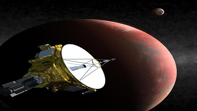 NASA's New Horizons probe will fly by Pluto on July 14, becoming the first spacecraft to study Pluto. Here's what you need to know about the icy world. (Credit: Johns Hopkins University/NASA)