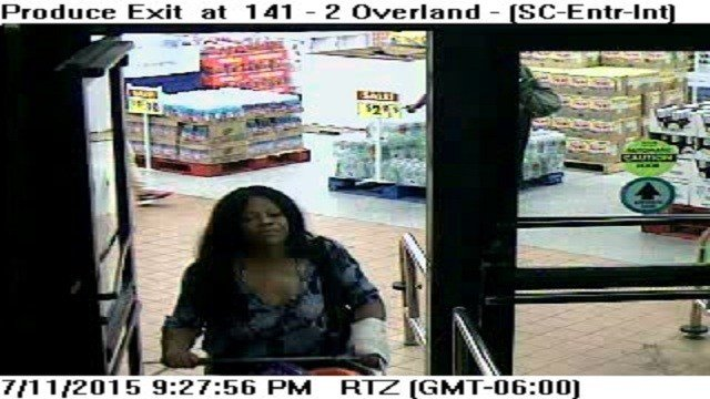 – Police are investigating a shoplifting suspect after she allegedly assaulted a security guard.