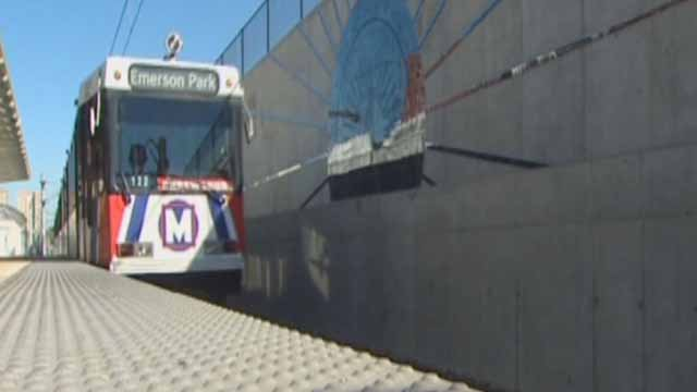 MetroLink train (Credit: KMOV)