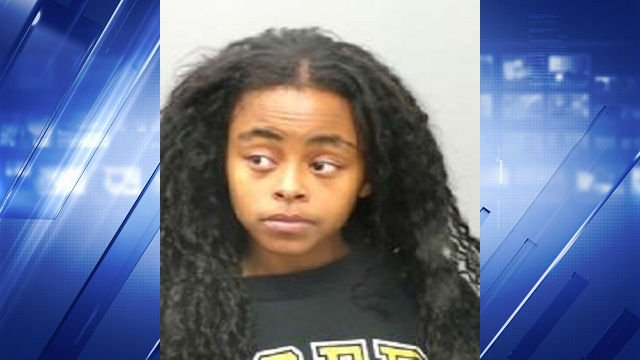 Jessica Whitfield, 25, is accused of trying to carry a loaded handgun through airport security.