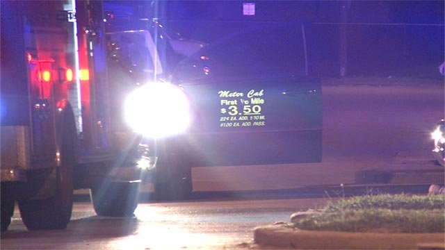 An unknown suspect fired numerous shots at the cab at Market and Jefferson around 3:30 a.m