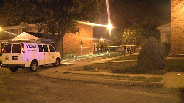 The man was shot multiple times around 1 a.m. near Hickory and South 11th Street, according to police.